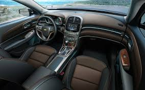 Quick Look: The 2013 Chevrolet Malibu's Interior, MyLink Voice ...