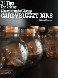 how to find awesome candy buffet jars candy com