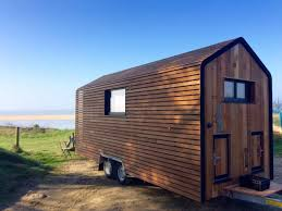 Small Picture Wooden Beauty the Huttopie from French Tiny House Builder Tiny