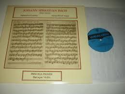 Wealden WS 216 Stereo : BACH Partitas for Solo Violin : Priscilla PALMER |  eBay