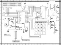 gsm based home security system working applications circuit diagram of home security system
