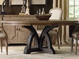 furniture corsica dark light wood 54 wide round dining table hoo528075213