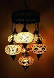 moroccan style lighting fixtures chandelier star style best mosaic hanging lamp images on hanging lamps part