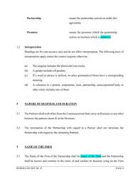 Business Partnership Agreement Template – Burgielaw Store
