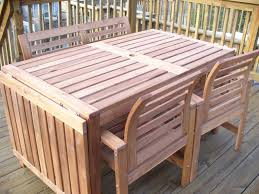 outdoor wood furniture plans furniture info within Wood Patio Table