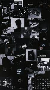 Aesthetic Black Allpaper