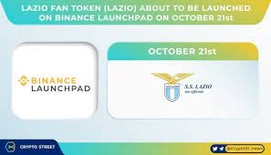 """Crypto Street on Twitter: """"🚀Lazio Fan Token $LAZIO about to be launched on  Binance Launchpad on October 21st as a way to kick off the Binance Fan Token  Platform🚀 For further details"""