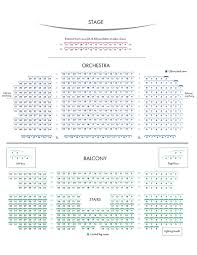 St Andrews Hall Balcony Seating Chart Seating Maps Kingston Grand Theatre