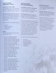 Summoning Chart War Of Sigmar Rumors And Rules For Age Of Sigmar