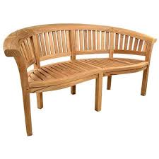 oxford teak garden bench 5ft