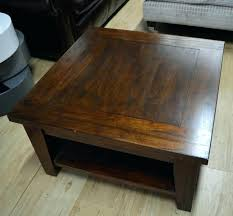 square wood coffee table wood square coffee table classic dark wood square coffee table 2 large