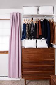 Open Closets Small Spaces Diy Open Closet System For Those With Tiny Bedroom Closets