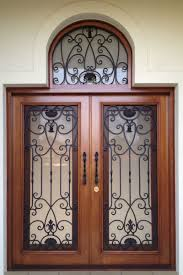 our wrought iron and timber doors add refinement and timeless elegance to your new or existing home providing a talking point for new visitors
