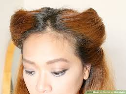 image led do pin up hairstyles step 1