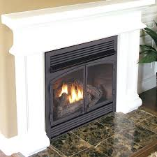 unvented propane fireplace logs vent free insert with er ventless fireplaces