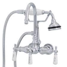 Randolph Morris Wall Mount High Spout Clawfoot Tub Faucet w ...