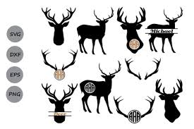 ✓ free for commercial use ✓ high quality images. Deer Monogram Graphic By Cosmosfineart Creative Fabrica
