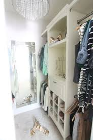 beautiful small walk in closet