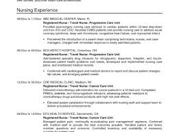 Travel Nurse Resume Sample Graduate Registered Nurse Resume Sample Luxury Objective Examples 7