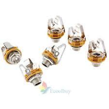 guitar jack 6pcs electric guitar socket switchcraft 1 4 input output jack replacement parts
