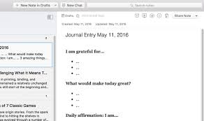 Onenote Daily Journal How To Jumpstart A Journaling Habit With 7 Simple Templates