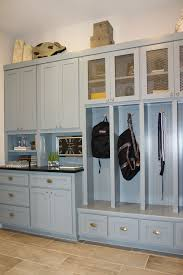 Built In Mudroom Custom Built Mudroom Lockers With Upper Cabinets Solid Maple