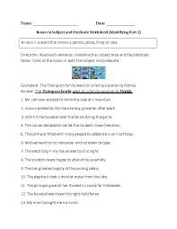 Magnificent Grade English Grammar Worksheets Templates And Free ...