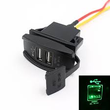 compare prices on 12v accessory outlet online shopping buy low pretty car truck boat accessory 12v 24v dual usb charger power adapter led outlet jr5