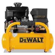 dewalt compressor. dewalt dxcmta5090412 6 hp 4 gallon oil-free twin tank pontoon air compressor with subaru engine