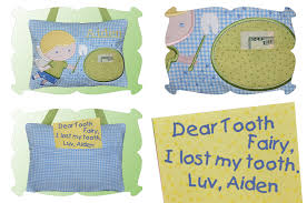 Tooth Fairy Pillow For Boys In The Hoop DigiStitches Machine