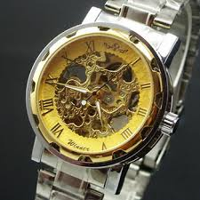 buy shippinggenuine mens watch automatic mechanical watches buy shippinggenuine mens watch automatic mechanical watches retro casual chain hollow steel band watches men mechanical genuin in cheap price on