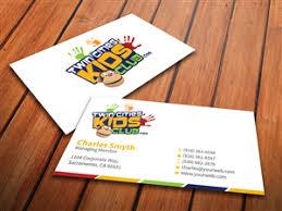 Business Card For Kids Under Fontanacountryinn Com