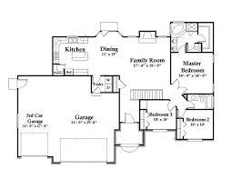 Sweet Idea Rambler Floor Plans With Basement Bonus Room Psion Floor Plans With Garage