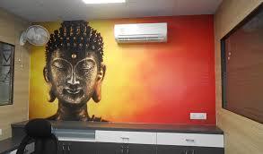 Wall murals for office Vinyl Decor Ideas For Offices Print Wallpaper Wall Murals For Offices
