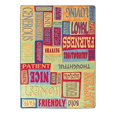 flagship carpets fe268 22a be a good friend rug a collage of feelings and good