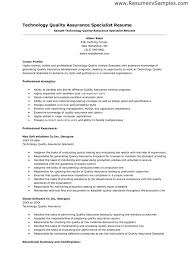 Sample qa resume is one of the best idea for you to make a good resume 19
