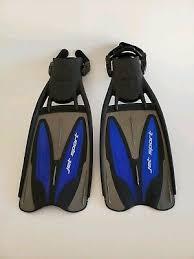 Scubapro Jet Sport Full Foot Fins Size Chart Scubapro Jet Sport Unisex Flippers Fins In Blue Size Small