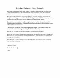 Landlord Reference Letter 24 Landlord Reference Letters Form Samples Template Lab 3