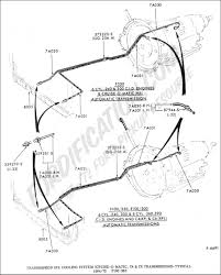 Transmission cooler installation diagram transmission cooler lines ford truck enthusiasts s