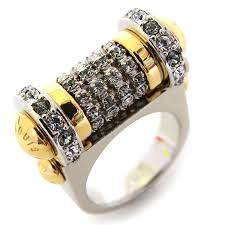 louis vuitton ring. louis vuitton rings ring rhinestone gold silver louis vuitton u