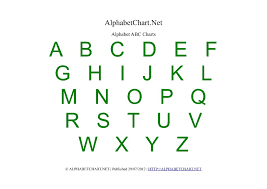 English Alphabet Chart Printable Alphabet Chart Printables For Children Download Free A4 Pdf