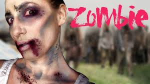 zombie makeup tutorial easy no special effects needed