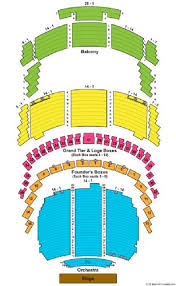 Wortham Center Tickets And Wortham Center Seating Chart
