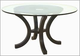 dining room table bases for glass tops best furniture round glass dining table with curved metal