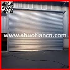 china industrial metal stainless steel roll up shutter door st 002 china stainless steel roll up door roller shutter door