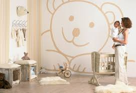 Neutral Wallpaper Bedroom Good Looking Neutral Kids Bedroom Ideas With Cure Wallpaper