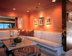 burnt orange and brown living room. Burnt Orange And Brown Kitchen Design Living Room Decor Built In . R