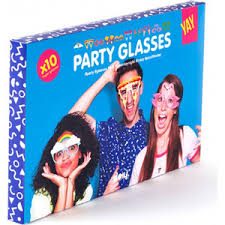 <b>Бумажные очки для вечеринок</b> Doiy Crazy glasses | www.gt-a.ru