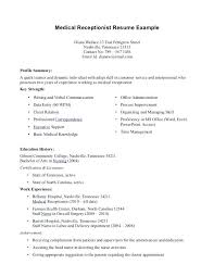 Example Medical Assistant Resume Medical Assistant Resume Template 8 ...