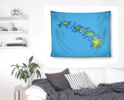 hawaii tapestry hawaiian islands wood